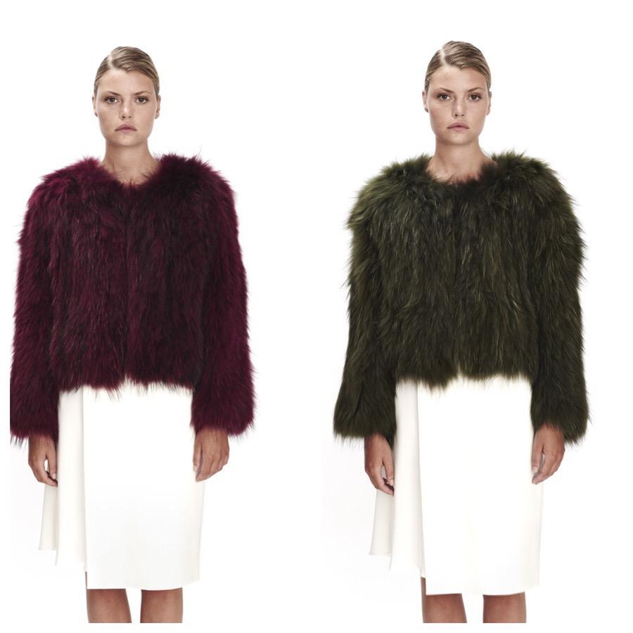 Saks Potts superfine fur jackets